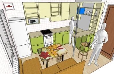 Оформление согласования на перепланировку кухни