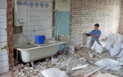 Запрещенная перепланировка ванной и туалета