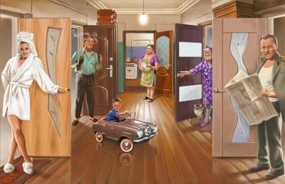 Как сдать комнату в коммунальной квартире?